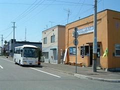 上富良野駅前
