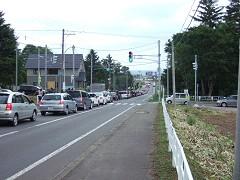 富良野渋滞