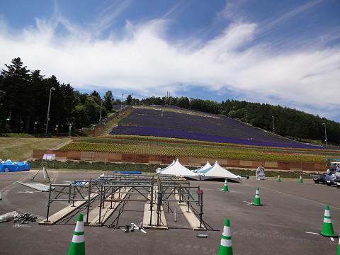 中富良野町営ラベンダー園(2016年7月15日)